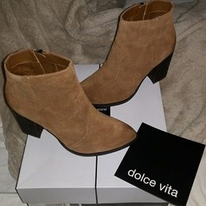 Dolce Vita Western Caillin Ankle Bootie